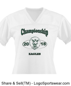 Championship Eagles Jersey Design Zoom